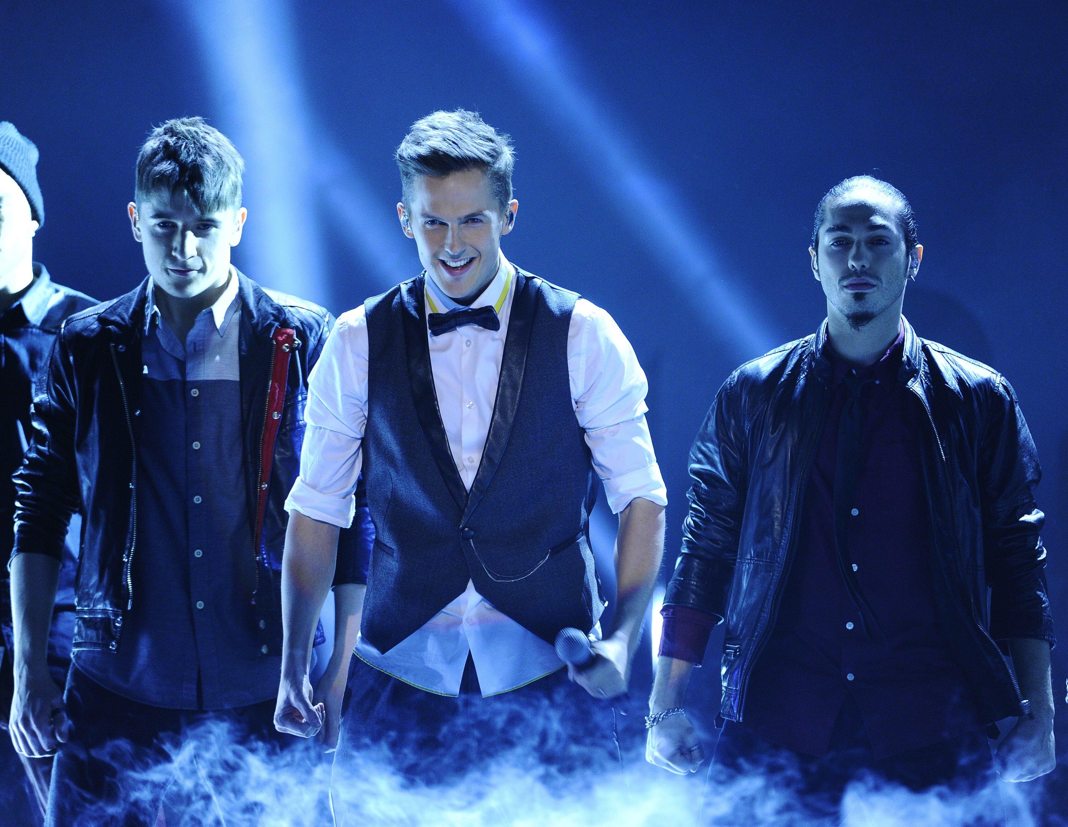 David Lindgren Melodifestivalen 2013