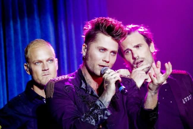 Brolle, Thomas Järvheden, Martin Stenmarck Ladies Night 2011