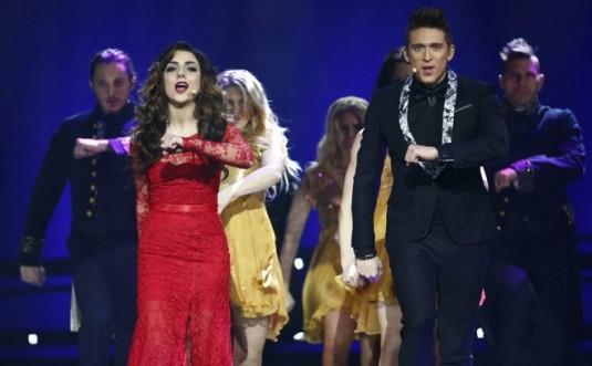 Danny Saucedo Final Melodifestivalen 2013
