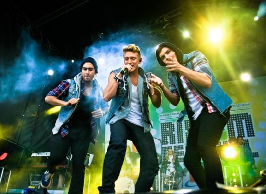 Danny Saucedo RixFM festival 2012