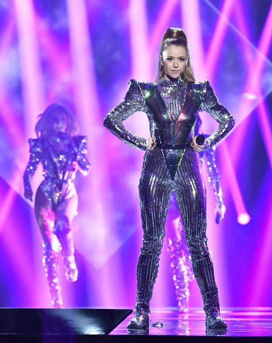 Clara Henry, Alcazar i Melodifestivalen 2017. Foto Karin Törnblom