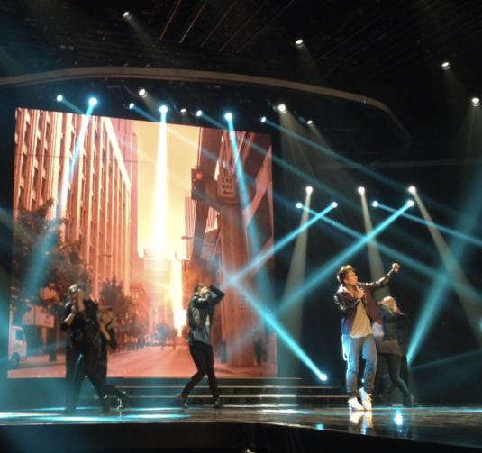 Danny Saucedo X Factor Delirious