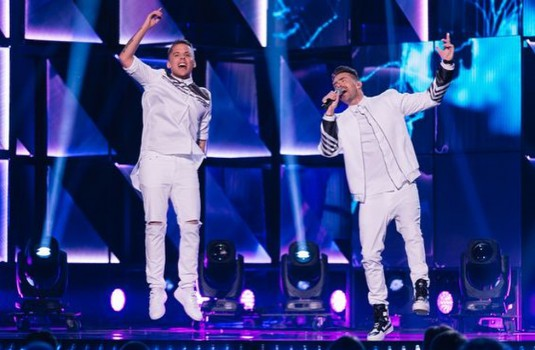 Albin Johnsen Mattias Andreasson Melodifestivalen 2016