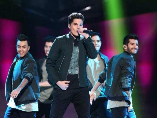 Oscar Zia Melodifestivalen 2014
